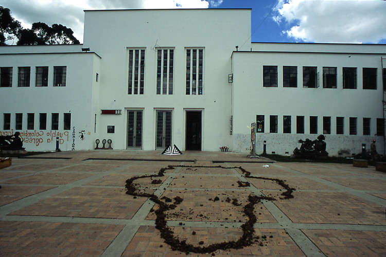 Concurso de ideias e anteprojeto para a sede da Faculdade de Artes, Universidade Nacional da Colômbia, Atual edifício da Facultade de Artes. Cortesia de Universidad Nacional de Colombia