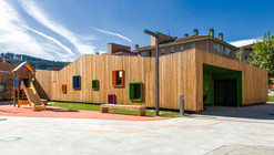 New Building for Nursery and Kindergarten in Zaldibar / Hiribarren-Gonzalez  + Estudio Urgari