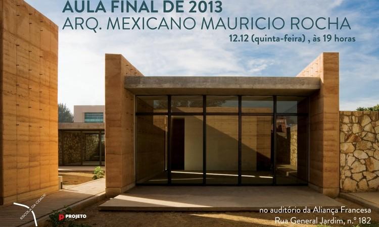 Escola da Cidade encerra o ano com palestra do arquiteto mexicano Maurício Rocha, Cortesia de Escola da Cidade