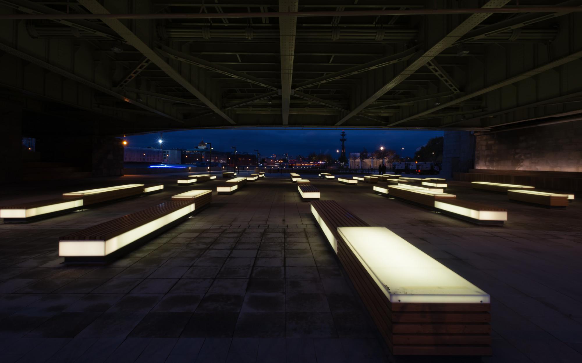 Urban lighting design: noche archi landscape design landscape