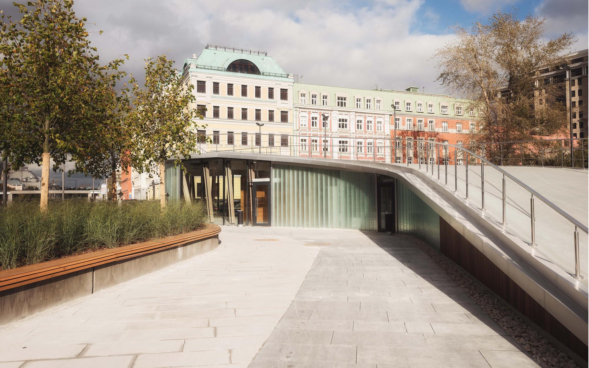 Gallery of krymskaya embankment wowhaus architecture bureau 18