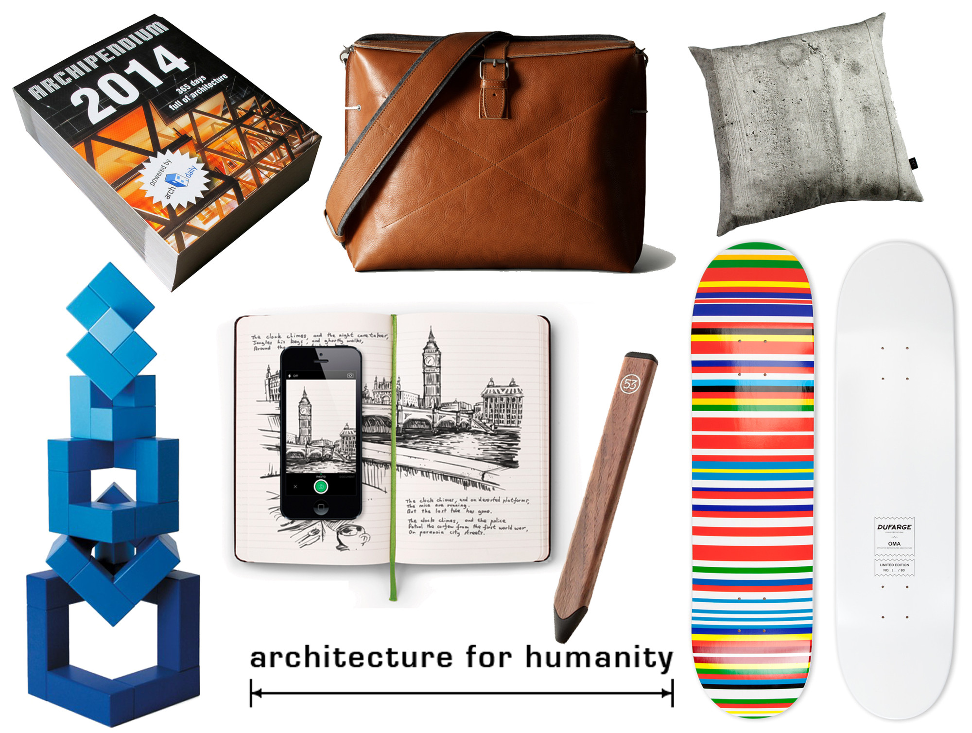 ArchDaily Architects Holiday Gift Guide 2013 ArchDaily