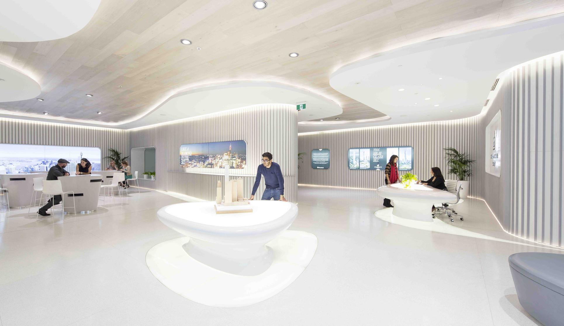 Sydney Greenland Centre Marketing Suite / PTW + LAVA, © Brett Boardman