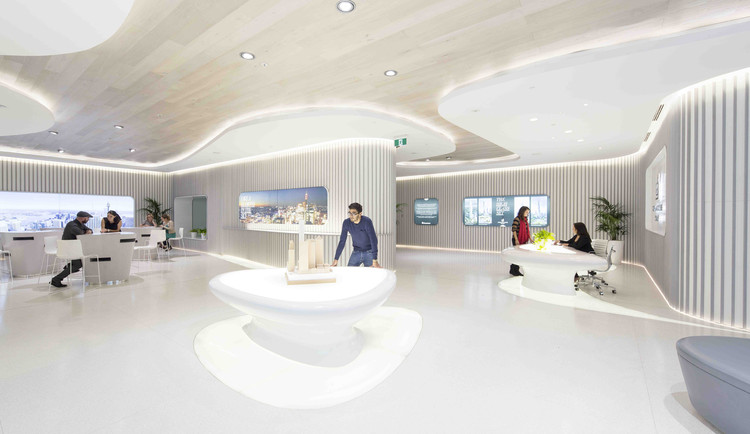Sala de Marketing para Greenland Centre en Sydney / PTW + LAVA, © Brett Boardman