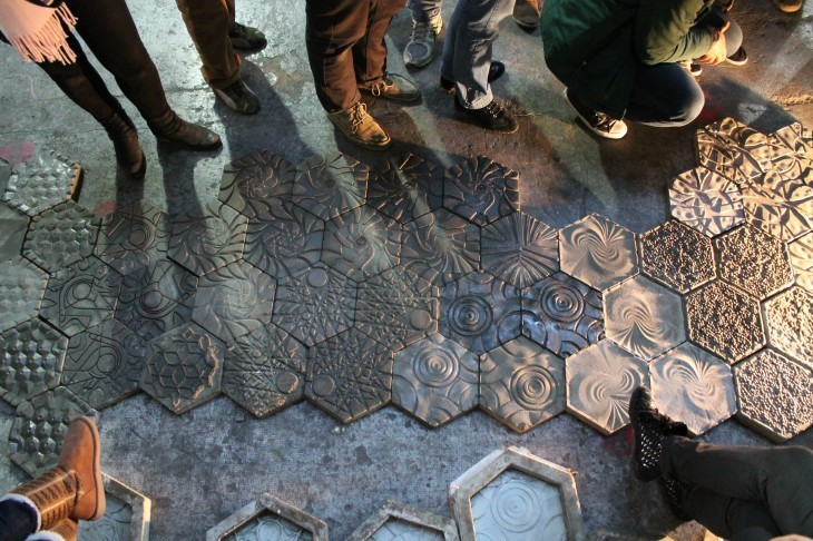 AD Architecture School Guide: The Institute for Advanced Architecture of Catalonia, The results of the Digital Fabrication Exercise on CNC milling, with molding, casting and composite explorations. Image Courtesy of http://www.iaacblog.com/