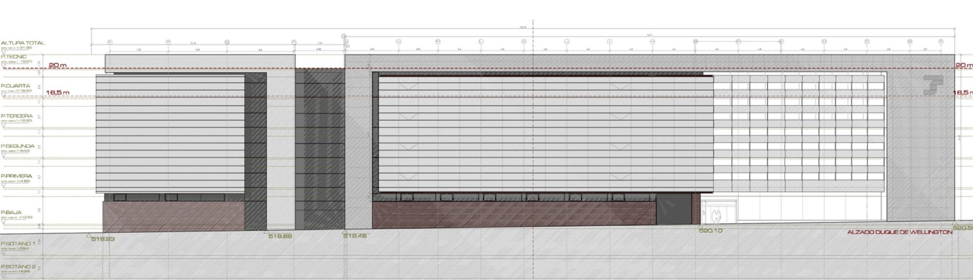 Galer a de edificio de oficinas en vitoria lh14 arquitectos 13 - Arquitectos en vitoria ...