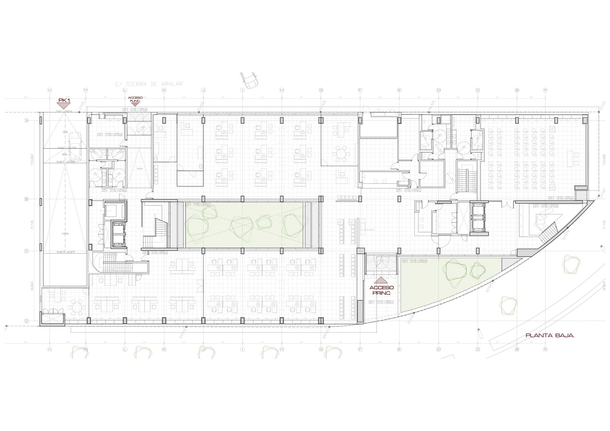 Galer a de edificio de oficinas en vitoria lh14 arquitectos 14 - Arquitectos en vitoria ...