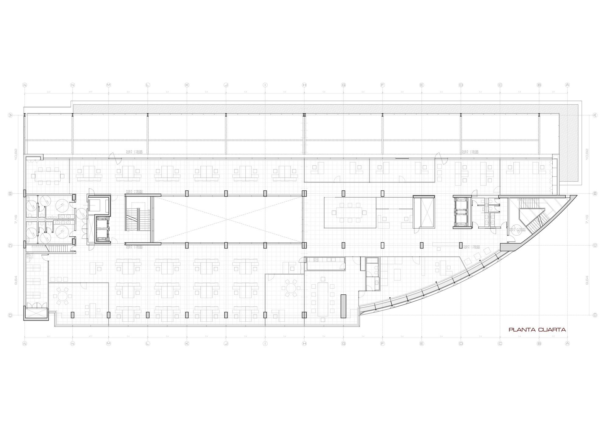 Galer a de edificio de oficinas en vitoria lh14 arquitectos 15 - Arquitectos en vitoria ...