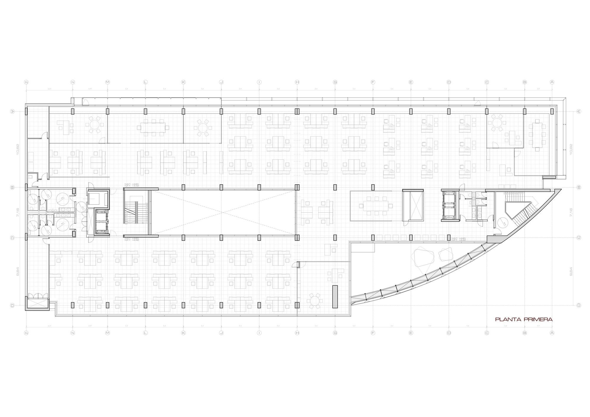 Galer a de edificio de oficinas en vitoria lh14 arquitectos 16 - Arquitectos en vitoria ...
