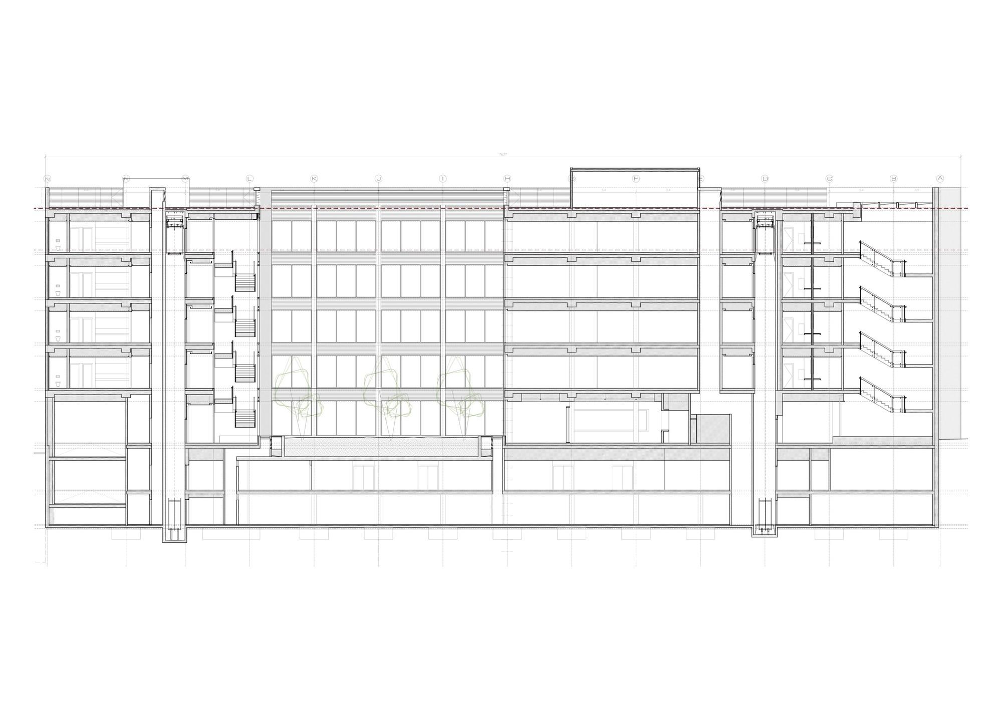 Galer a de edificio de oficinas en vitoria lh14 arquitectos 17 - Arquitectos en vitoria ...