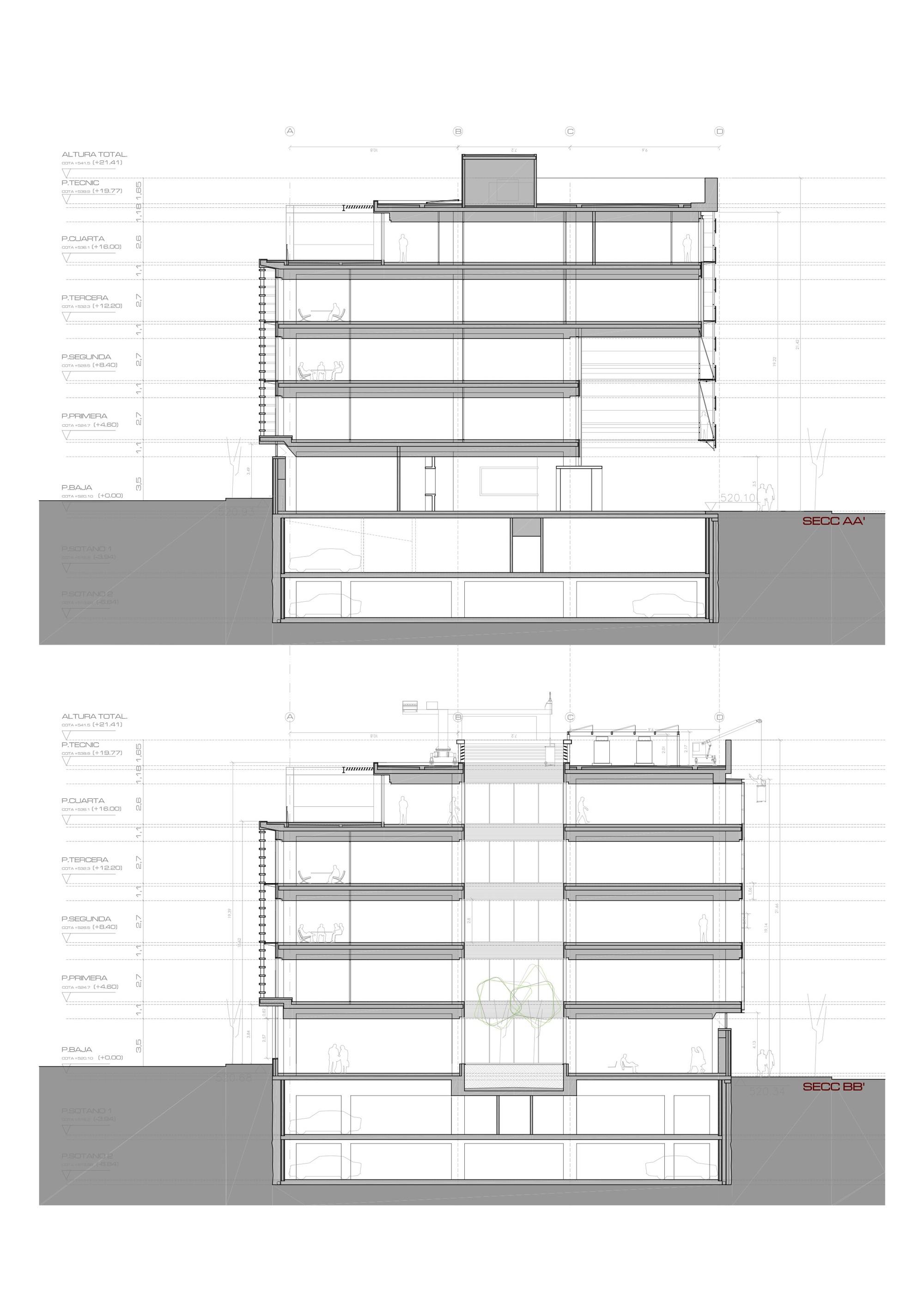 Galer a de edificio de oficinas en vitoria lh14 arquitectos 18 - Arquitectos en vitoria ...