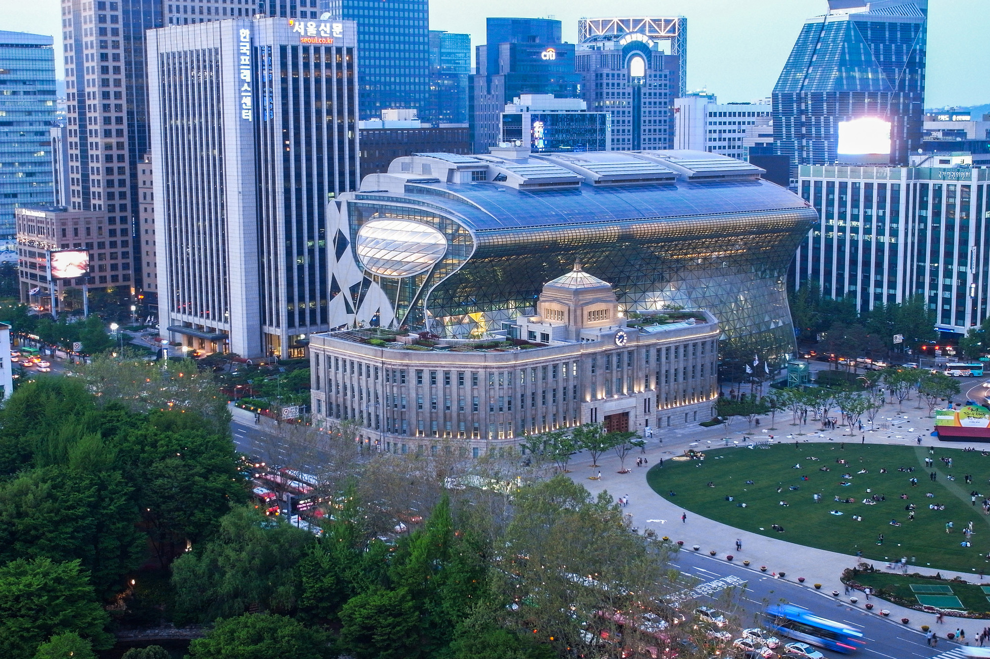 City Hall Plaza Seoul