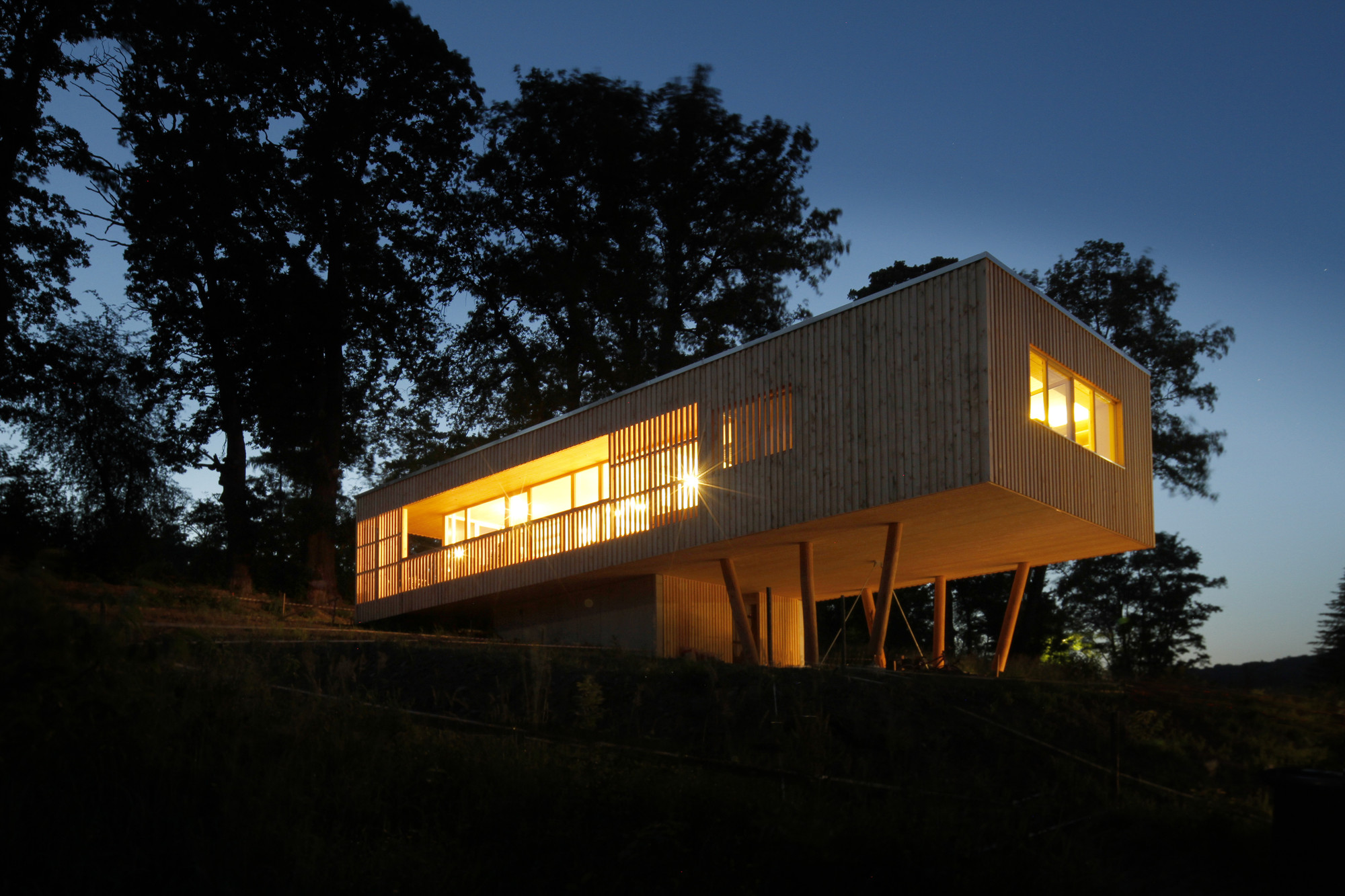 House under the Oaks / Juri Troy Architects, Courtesy of Juri Troy Architects
