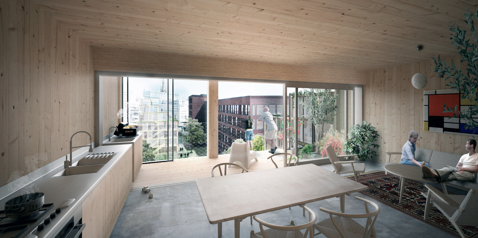 Great C.F. Møller And DinnellJohanssonu0027s Wooden Skyscraper Wins International  Competition Great Ideas