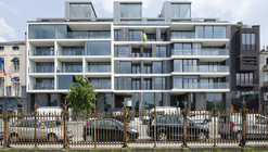 Apartments Jordaenskaai Antwerp / Crepain Binst Architecture