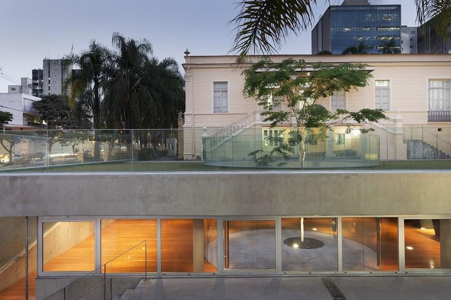 Mine Museum and Archive's Café  / MACh Arquitetos, © Gabriel Castro