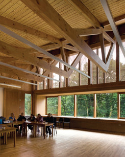 Gallery of grizedale sutherland hussey architects 2 for Clerestory roof truss design