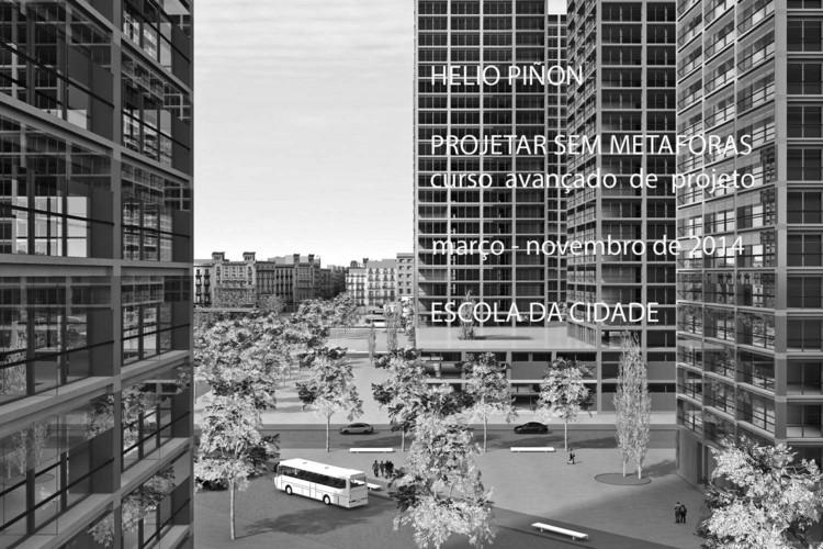 Escola da Cidade promove curso de projeto com Helio Piñón – inscrições abertas