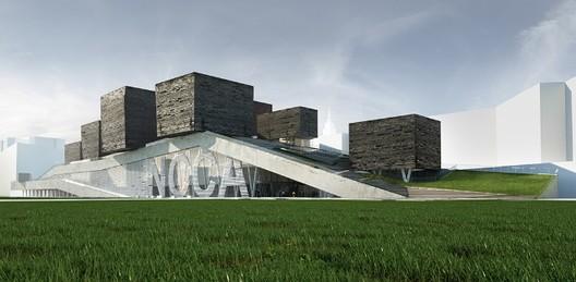 MEL's NCCA proposal. Image Courtesy of NCCA