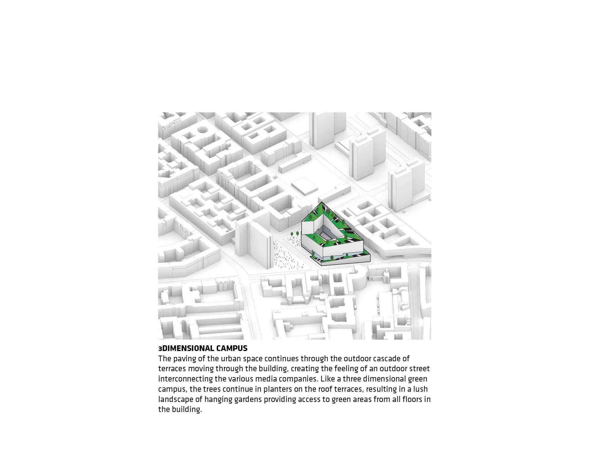 three dimensional urban green volume - HD1600×1200