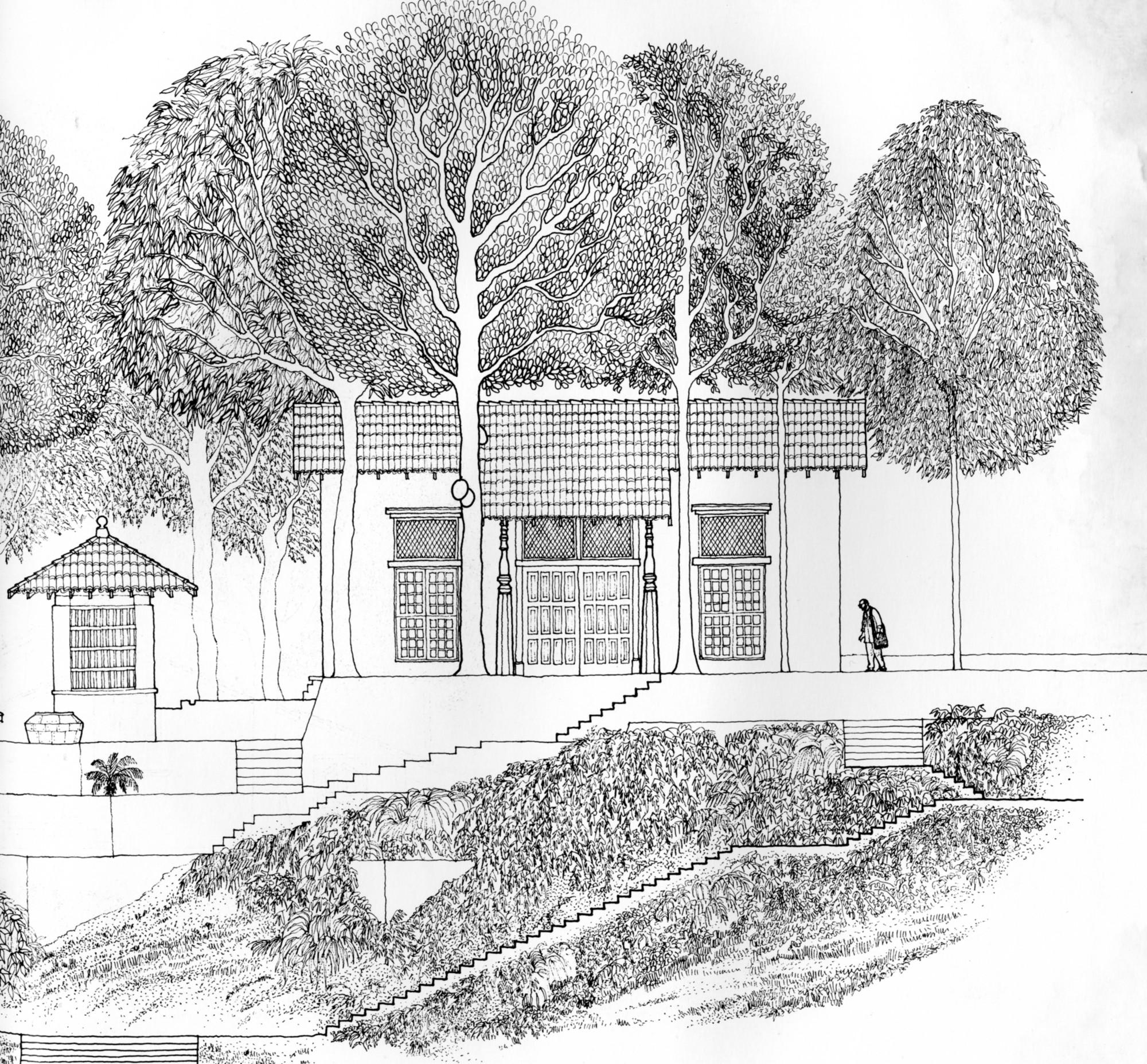 Sketch House Design D