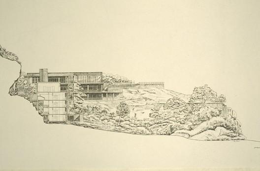 Kandalama Hotel, Dambulla - Section. Image