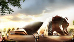 """GRAFT Wins """"Apassionata"""" with Iconic, Temporary Structure for Horse Shows"""