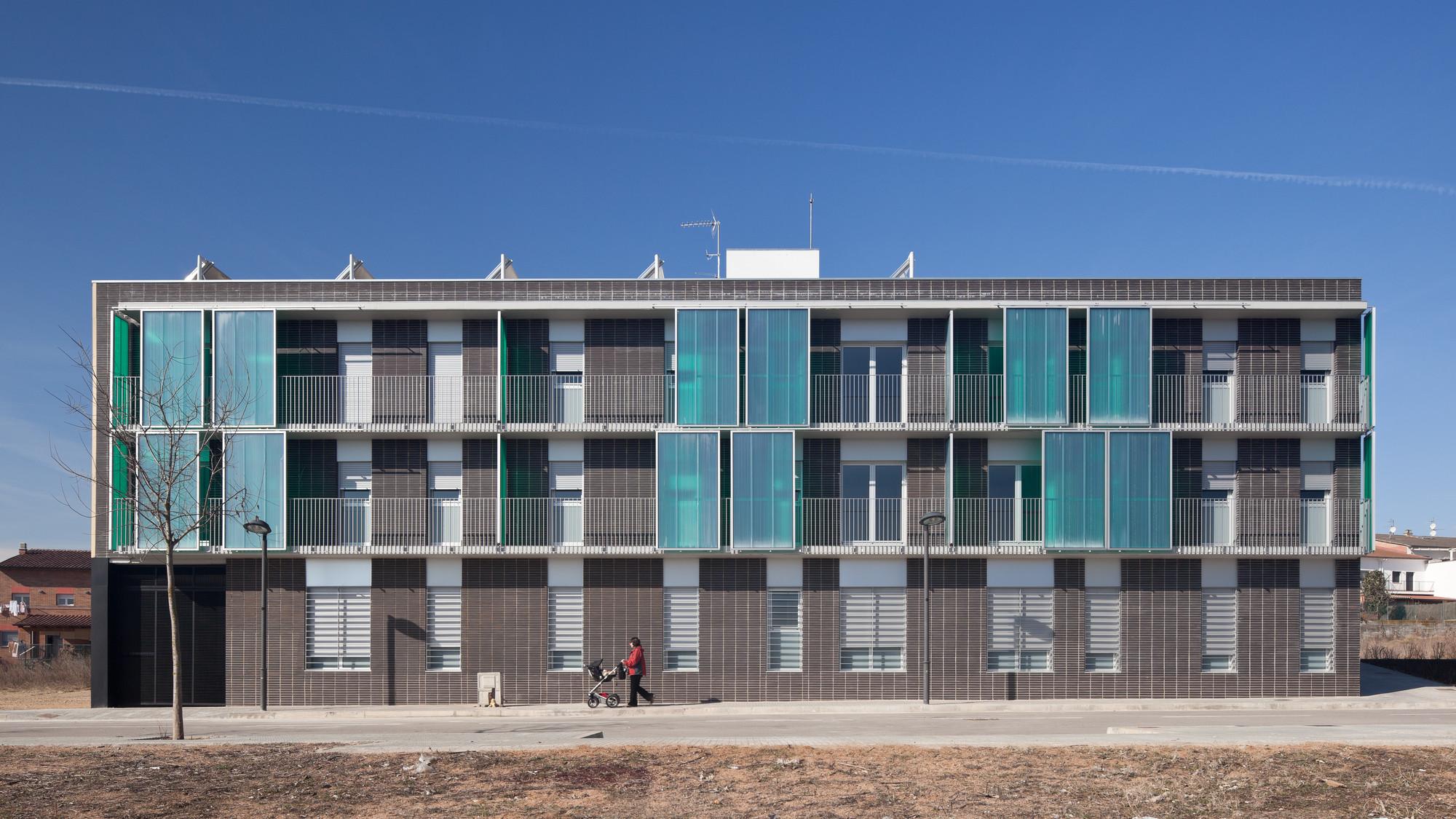 17 VPO Dwellings / Màrius Quintana Creus, © Marc Torra