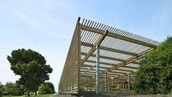 JC Raulston Arboretum Lath House / Frank Harmon Architect