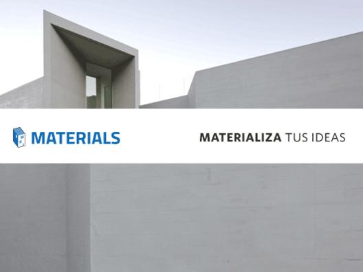 Materials: Ayudando a materializar la inspiración de los arquitectos