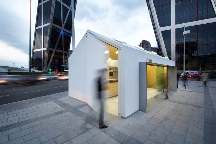 Kiosco de reunión en Tetuán / Losada García arquitectos, © Alfonso Herranz