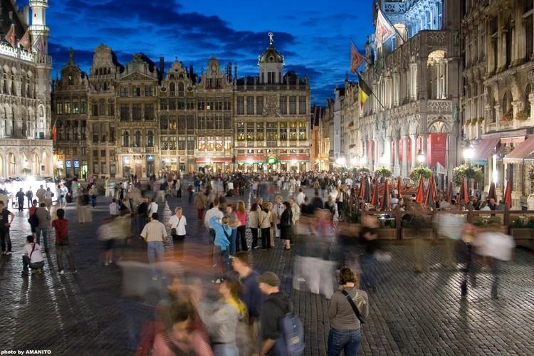 O espaço público, esse protagonista da cidade. , Imagem via Plataforma Urbana