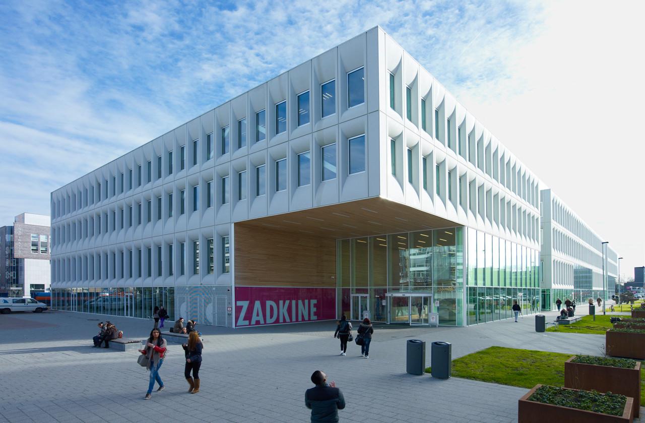 Unielocatie Zuiderpark / JHK Architecten, © Jeroen Musch