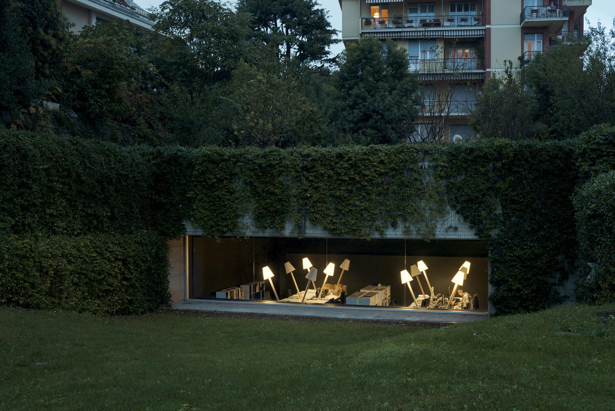 House Architecture Software Underground Garage Carlo Bagliani Archdaily