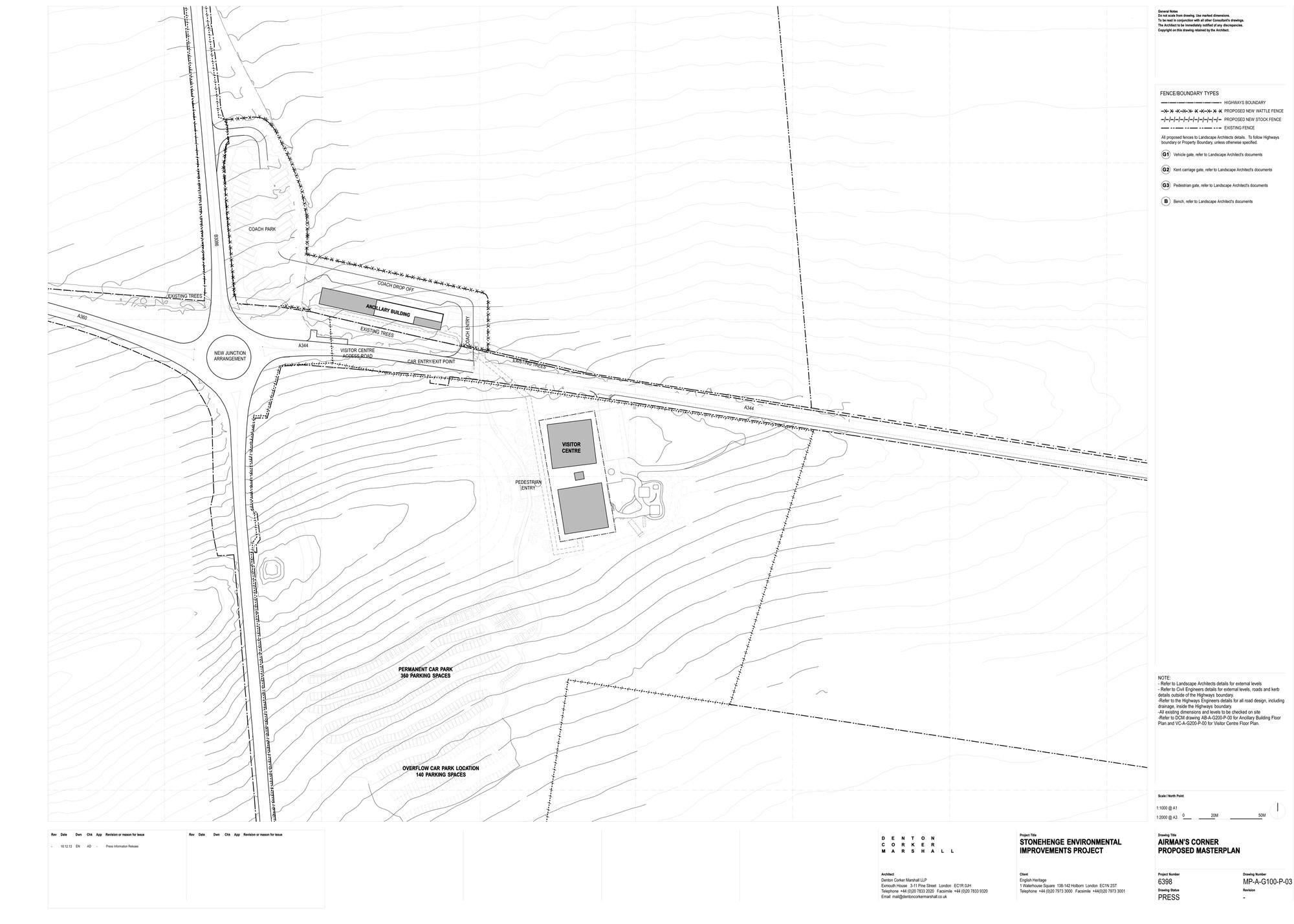 stonehenge visitor centre / denton corker marshall