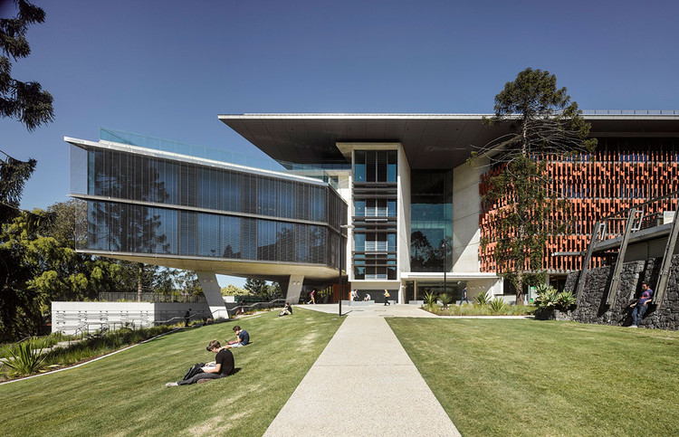 Advanced Engineering Building Hassell Kirk Archdaily