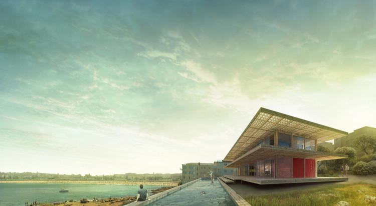 Casa container sustentável vence  competição em Sydney, Cortesia de Aleš Javůrek