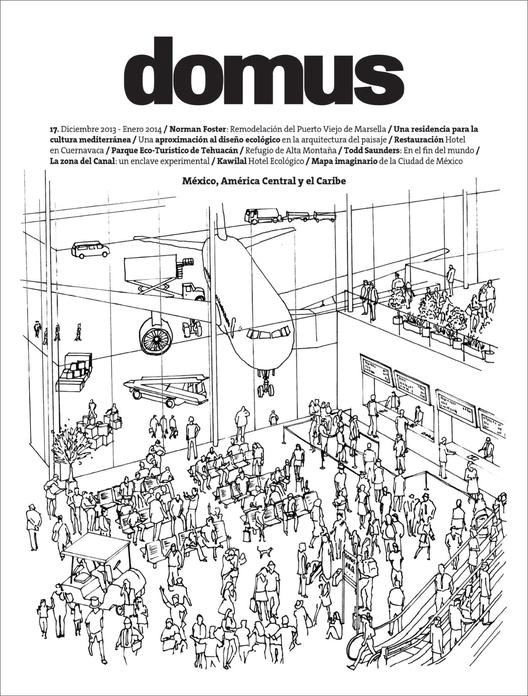 Ganador del Concurso del diseño de la portada de la revista Domus México, 1er Lugar / Kevin Kraus