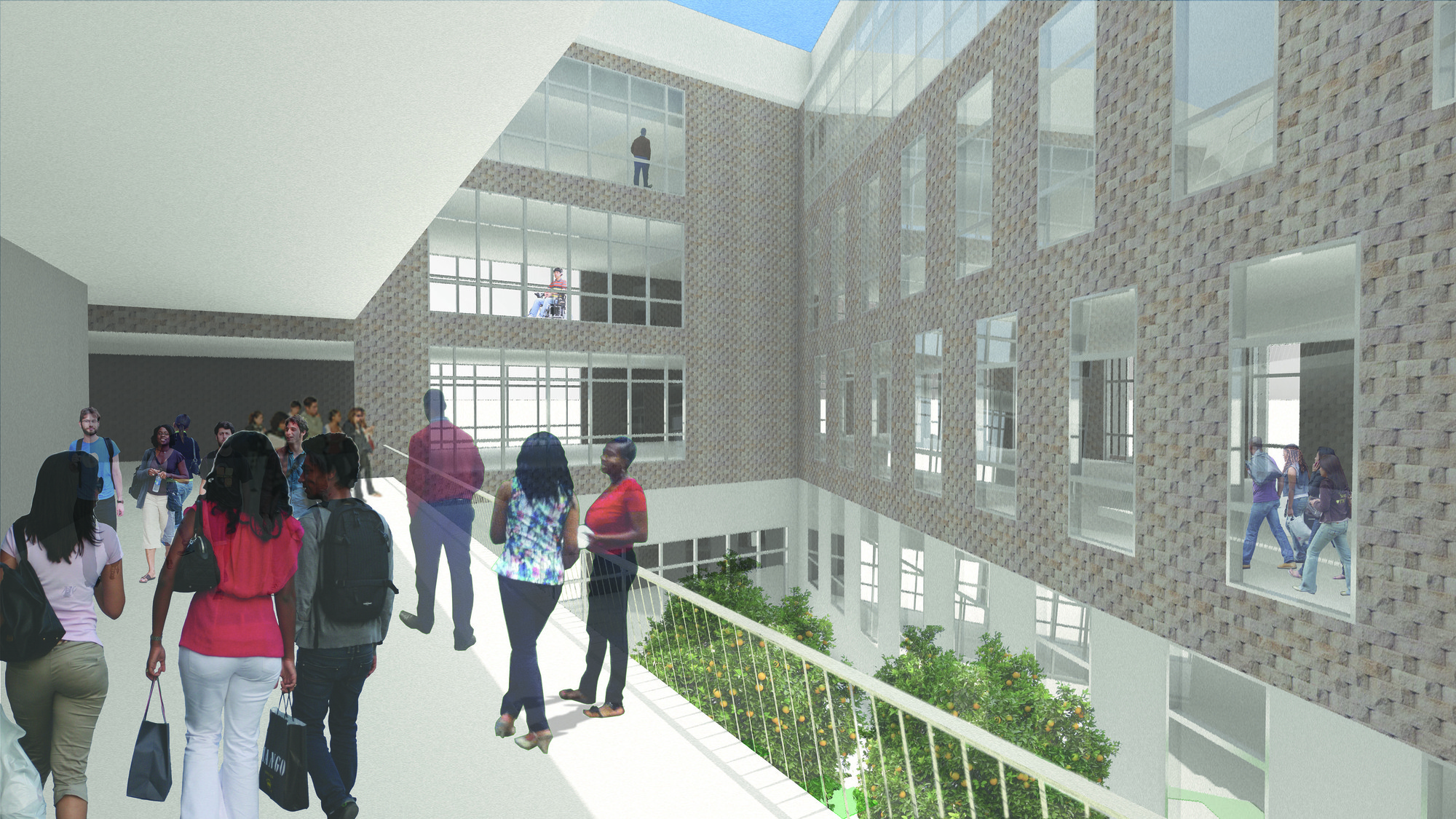 gallery of finalist proposal for first public university in south