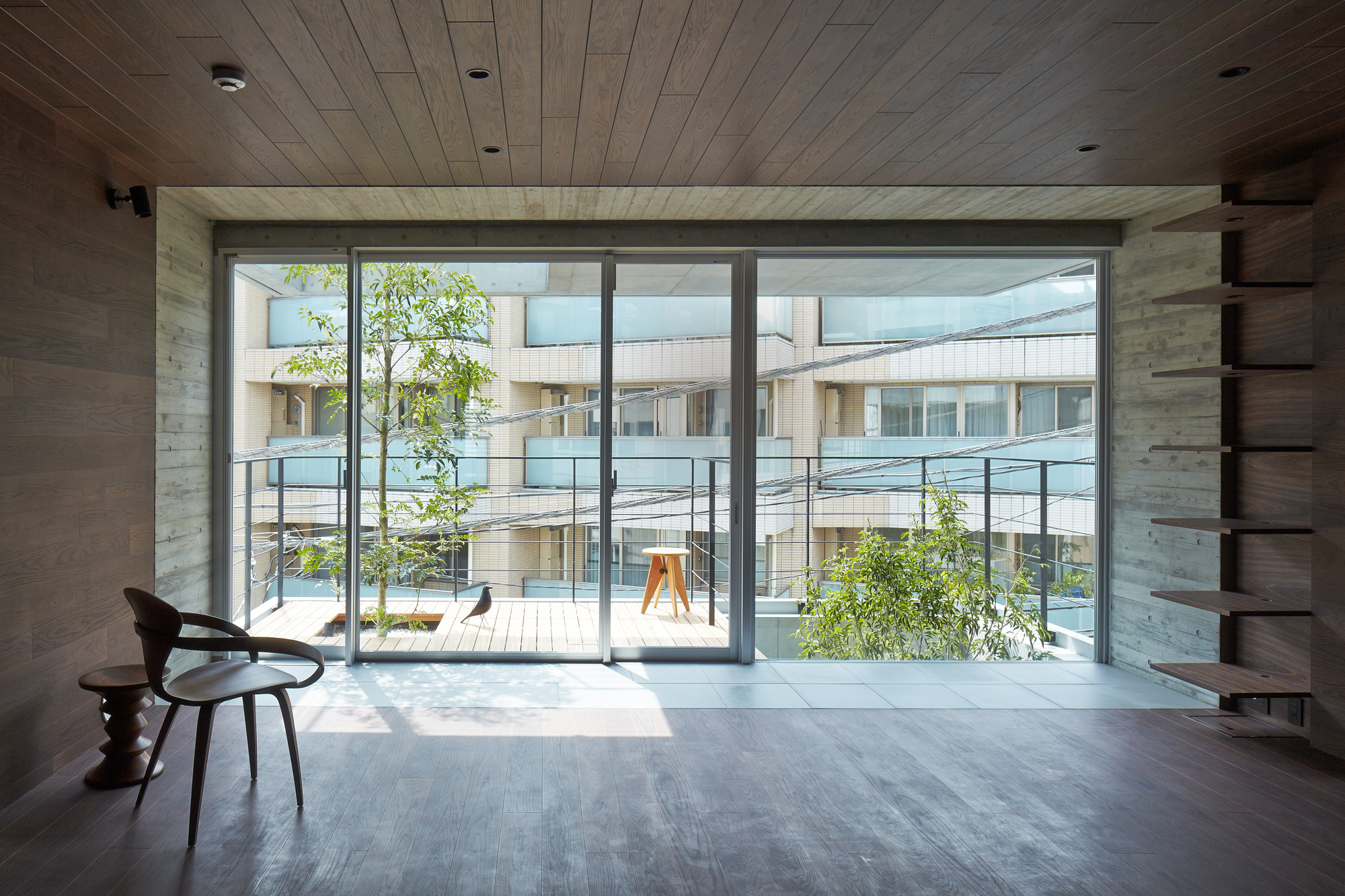 gallery of balcony house ryo matsui architects inc 2