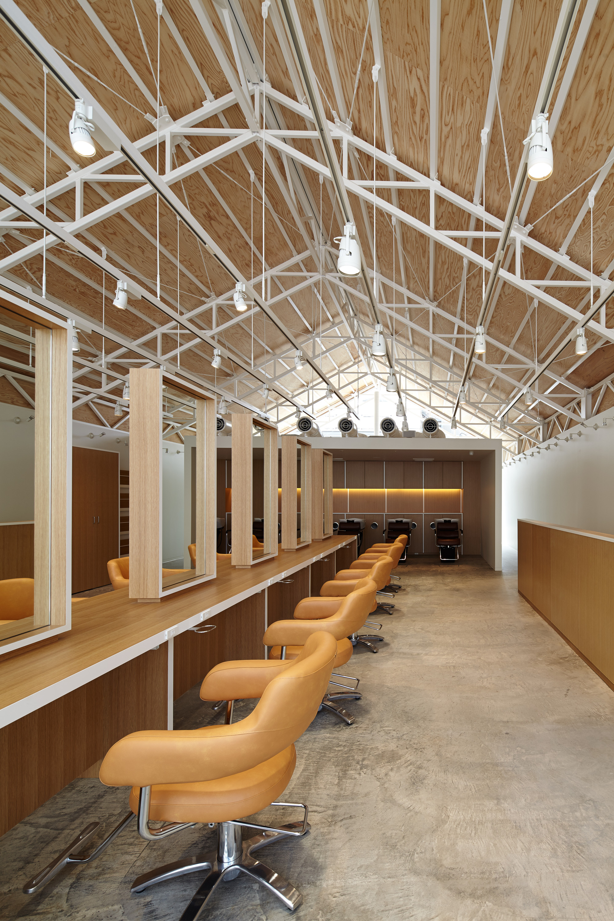 Gallery of hair do ryo matsui architects 3 for Architects corporation
