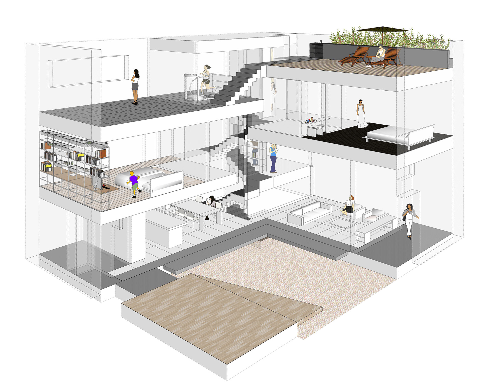 Gallery Of Easy House    Tru Architects