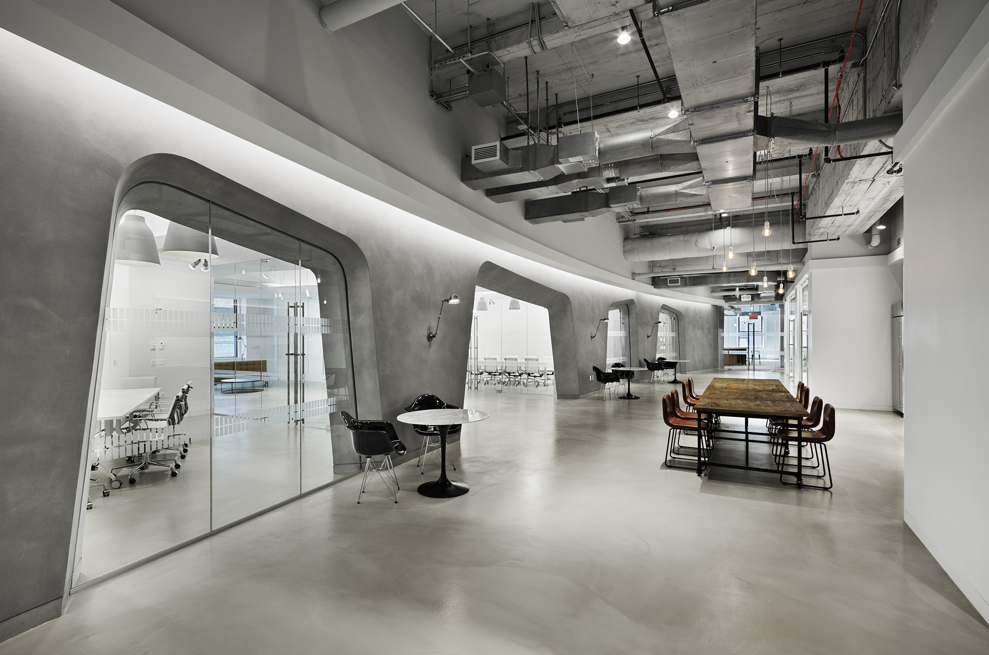 Lf usa womens apparel group spacesmith archdaily for Office design new york