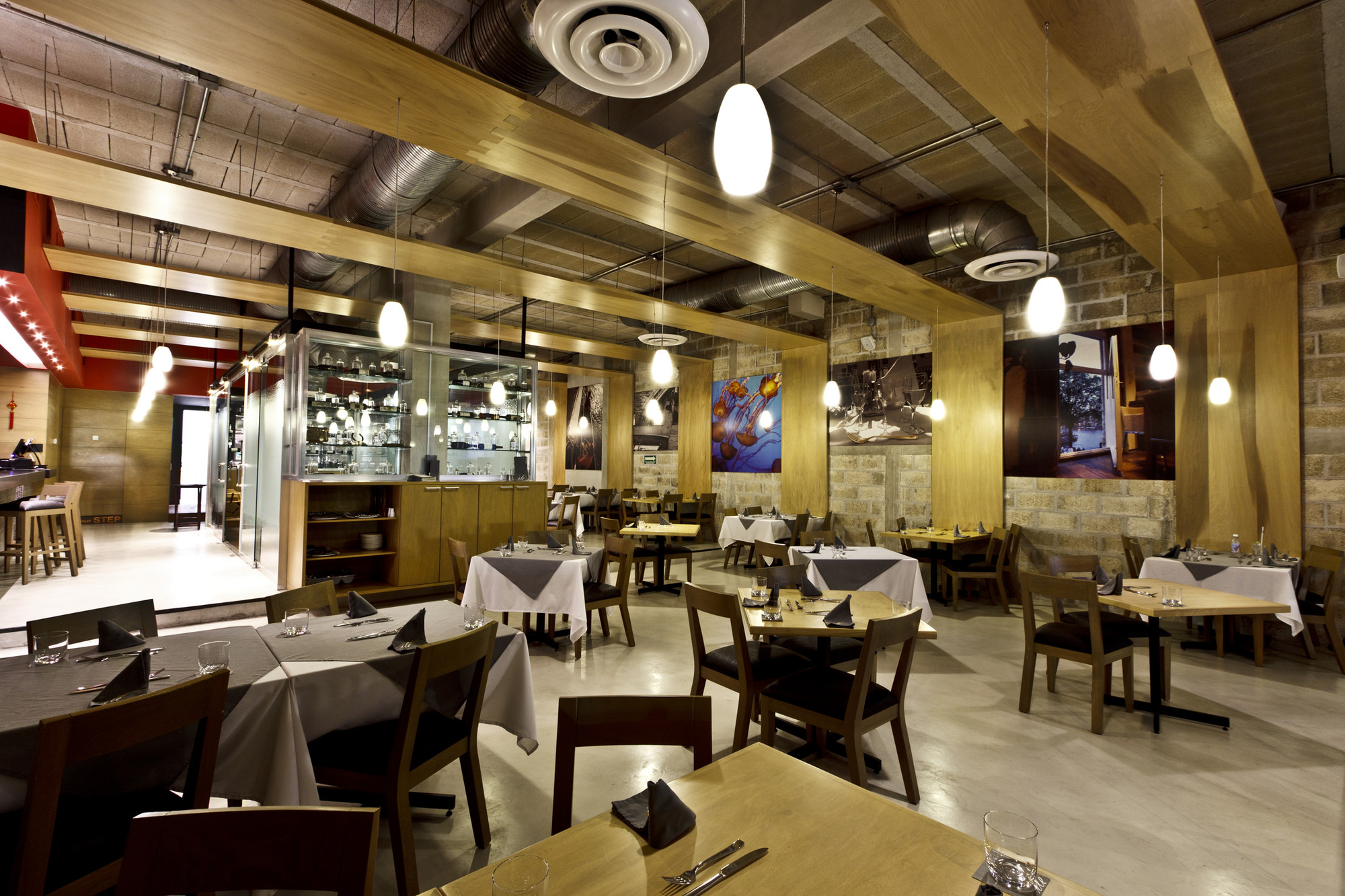 Galer a de restaurante il dox arquitectos 7 - Oficinas santa lucia madrid ...