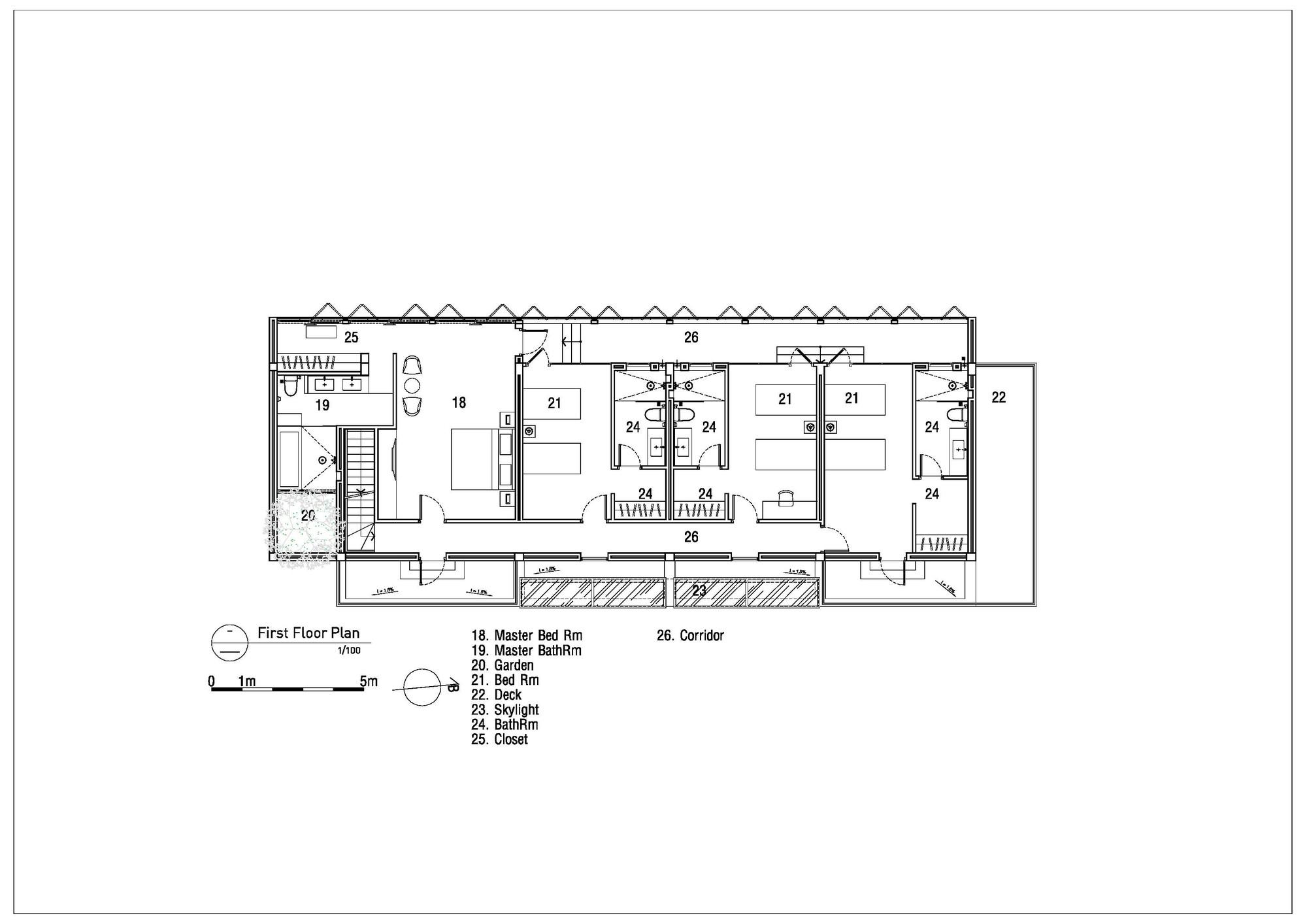 Gallery Of House 81 Mimanystudio Realarchitecture 19 2006 Honda Crv Fuse Box Diagram 81first Floor Plan