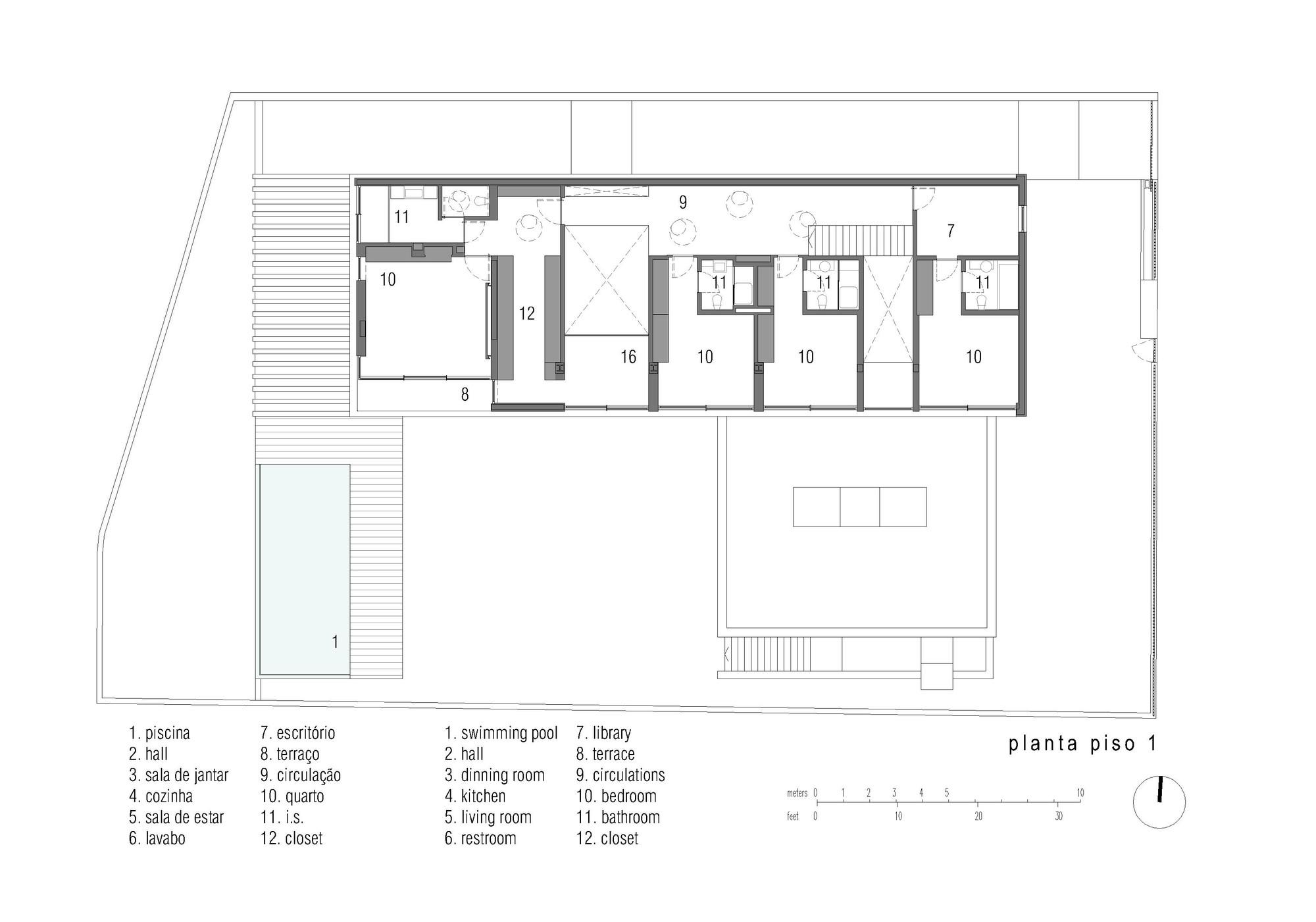 Gallery of house in restelo leonor duarte ferreira pmc for Oficinas minimalistas
