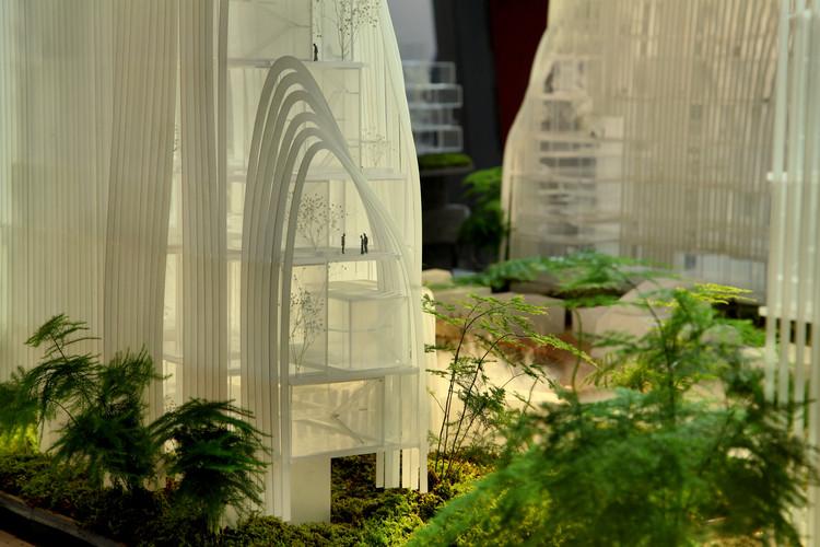 """MAD prevê cidades chinesas mais """"naturais"""" no futuro, Cortesia de MAD Architects"""