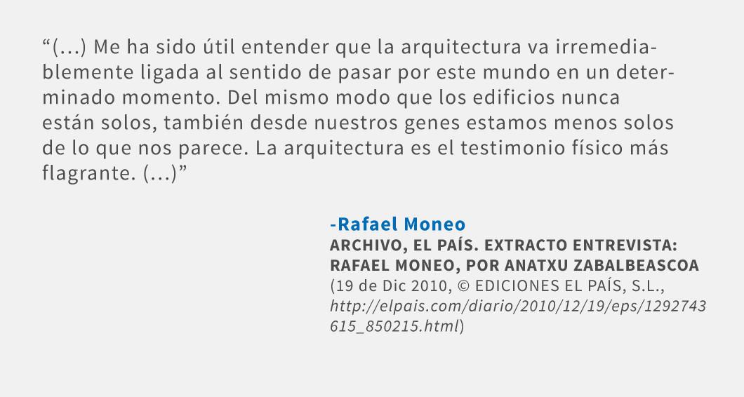 Frases: Rafael Moneo