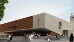 """Segundo Lugar Concurso de anteprojetos """"Novo Templo na cidade de Chajari"""",  Entre Ríos / Argentina"""