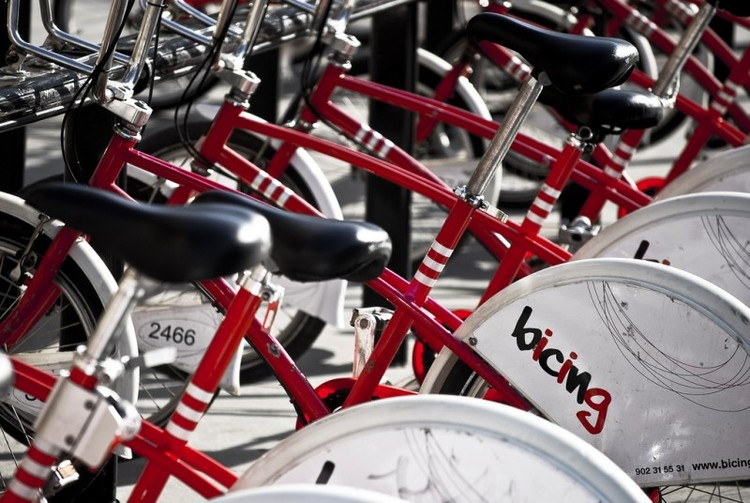 Os 7 melhores sistemas de bicicletas públicas do mundo, Bicing Barcelona